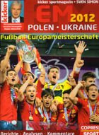 Poland - Ukraine 2012 - Football European Championship (ed. Kicker)
