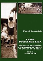 Before League, vol. II: saeson 1920 (Almanach of polish football in 1919-1926)