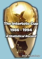 The Intertoto Cup – A Statistical Record 1986-1994