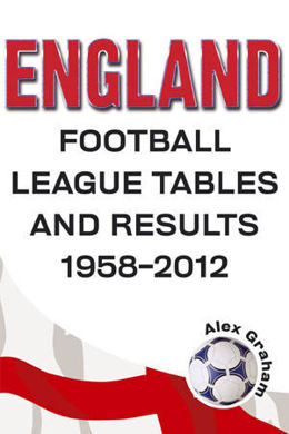England - Football League Tables & Results 1958 to 2012